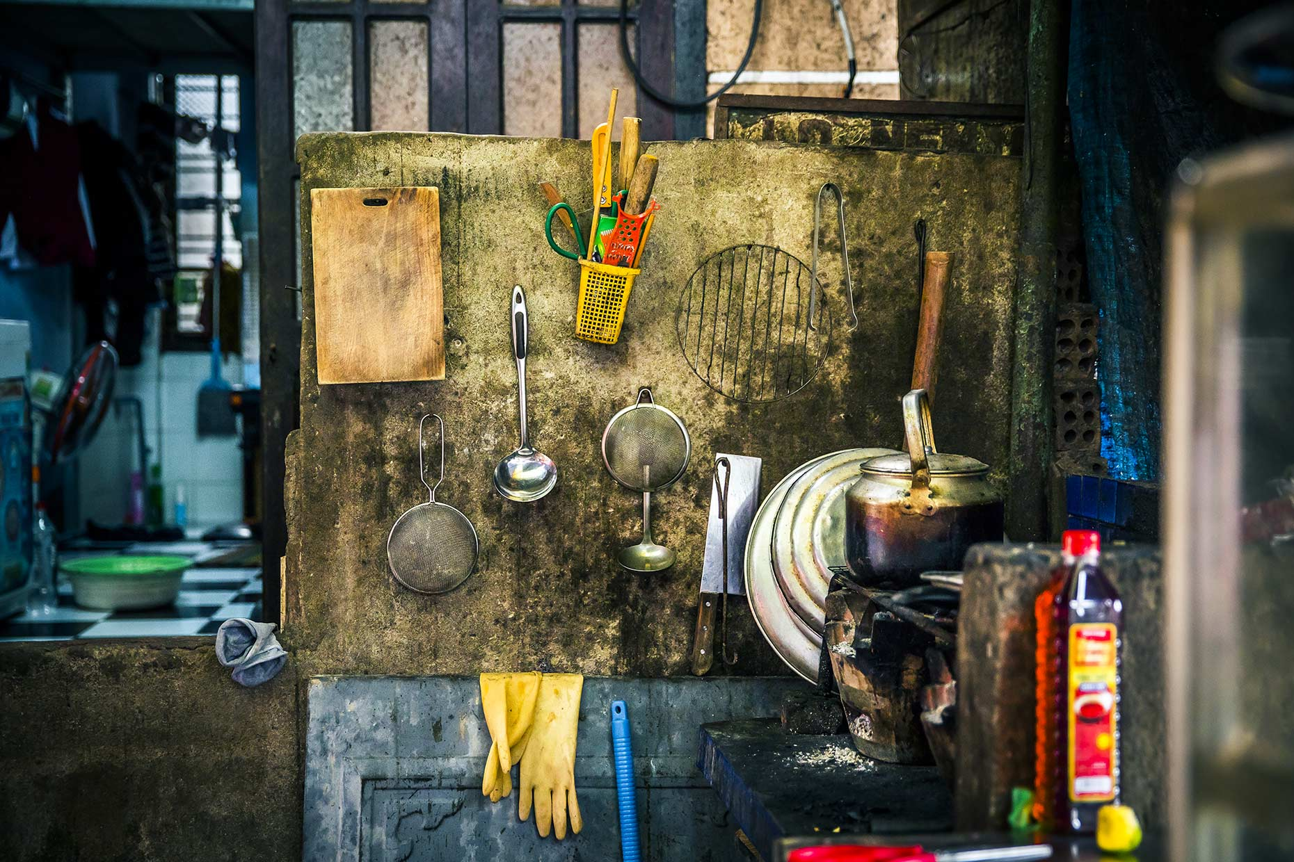 Kitchen Clutter - Vietnam