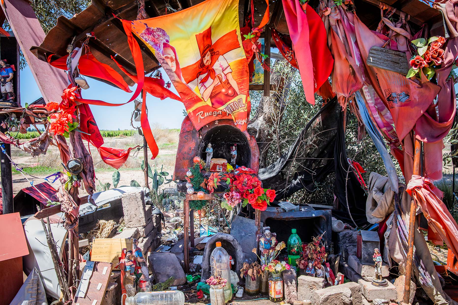 Roadside Shrine Argentina