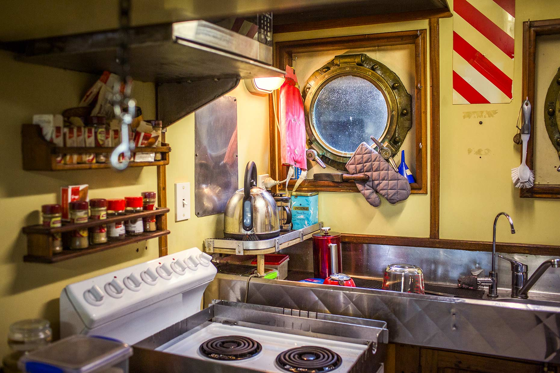 Kitchen Clutter - Tug Boat Auckland